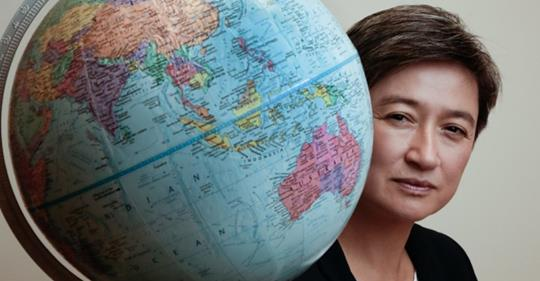 'She's quite remarkable': Penny Wong awarded major prize for political leadership.