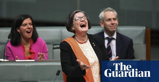 'Don't get mad, get elected': independent Cathy McGowan farewells parliament – video