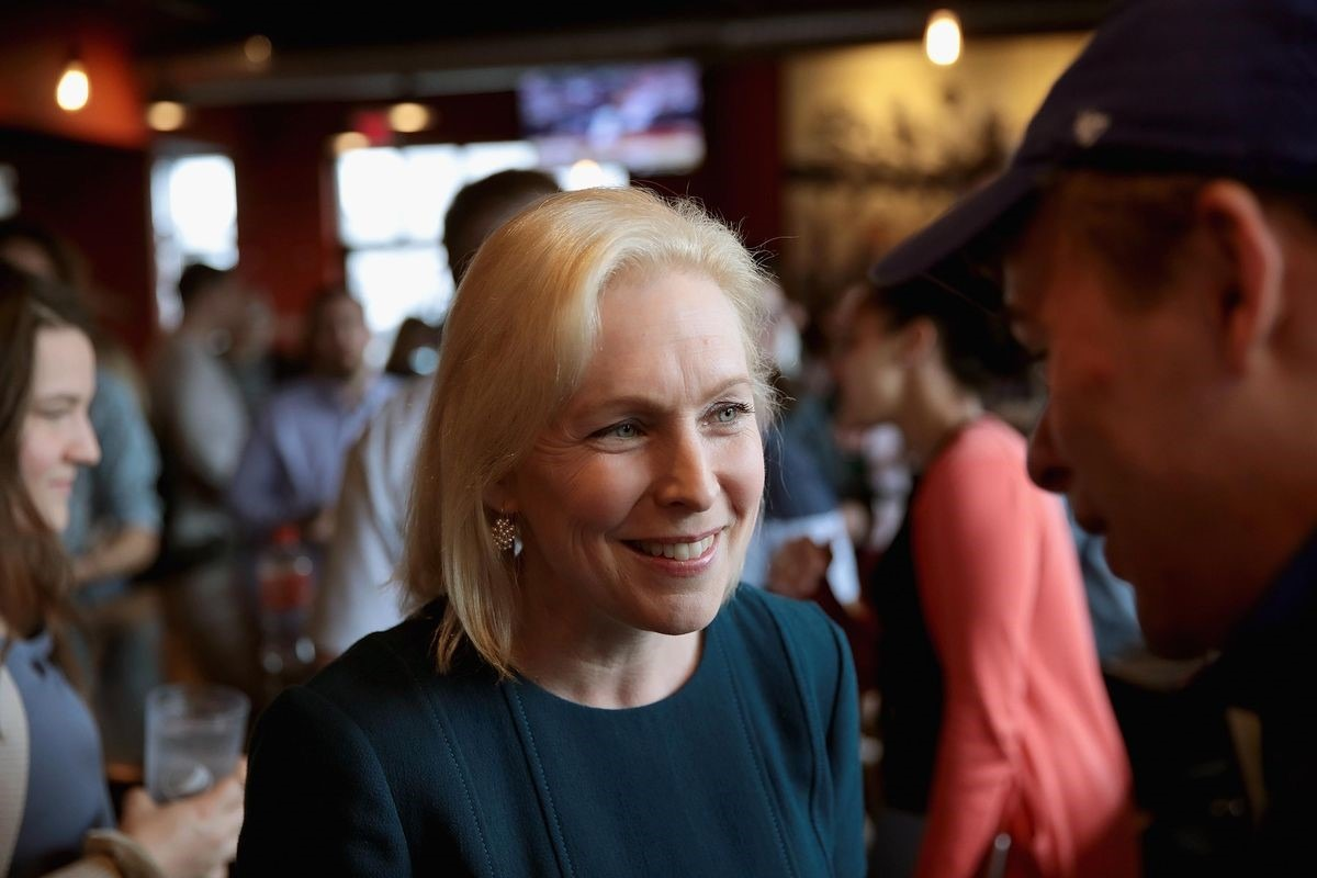 Kirsten Gillibrand breaks down why we need more women in politics, in one quote