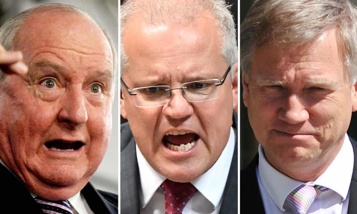 Attack of the clones: Australia's reign by older white men is an offence on us all