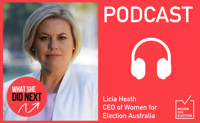 Podcast: Licia Heath on What she did next