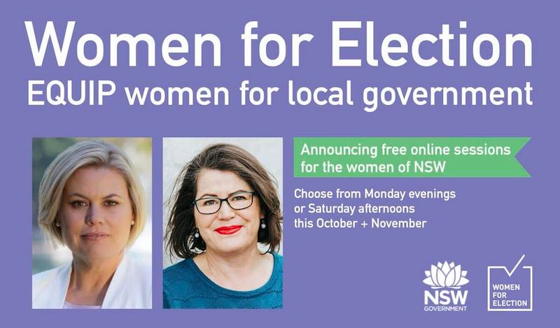 WFEA partnering with NSW Government to EQUIP more women to run for local government