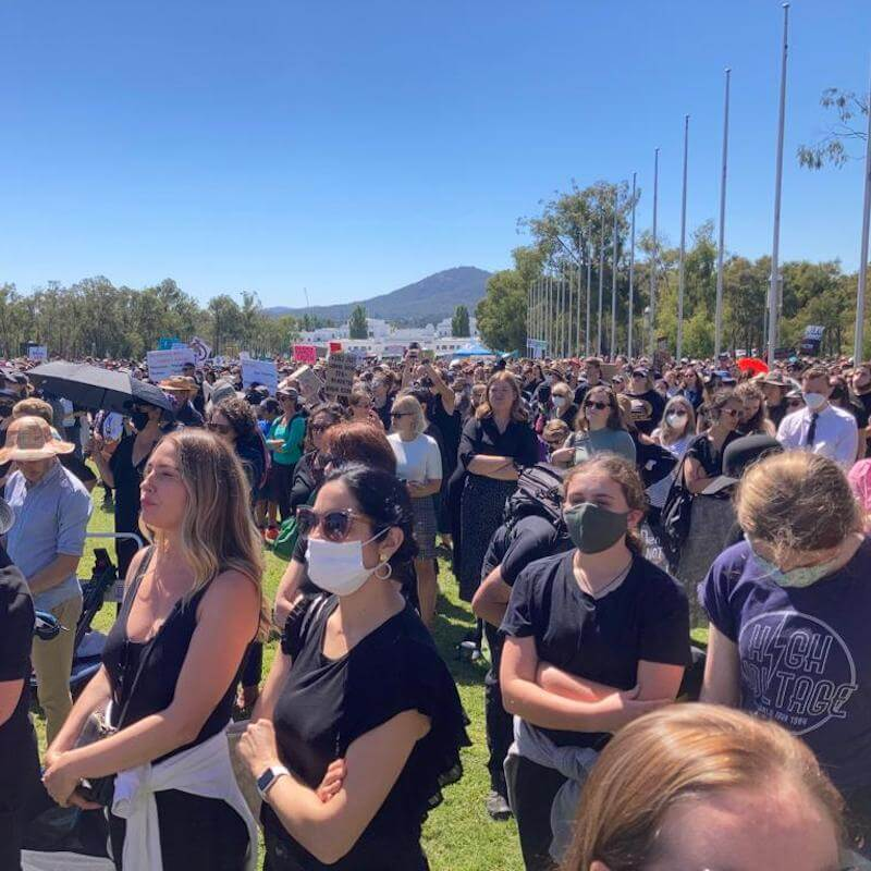 The Canberra March