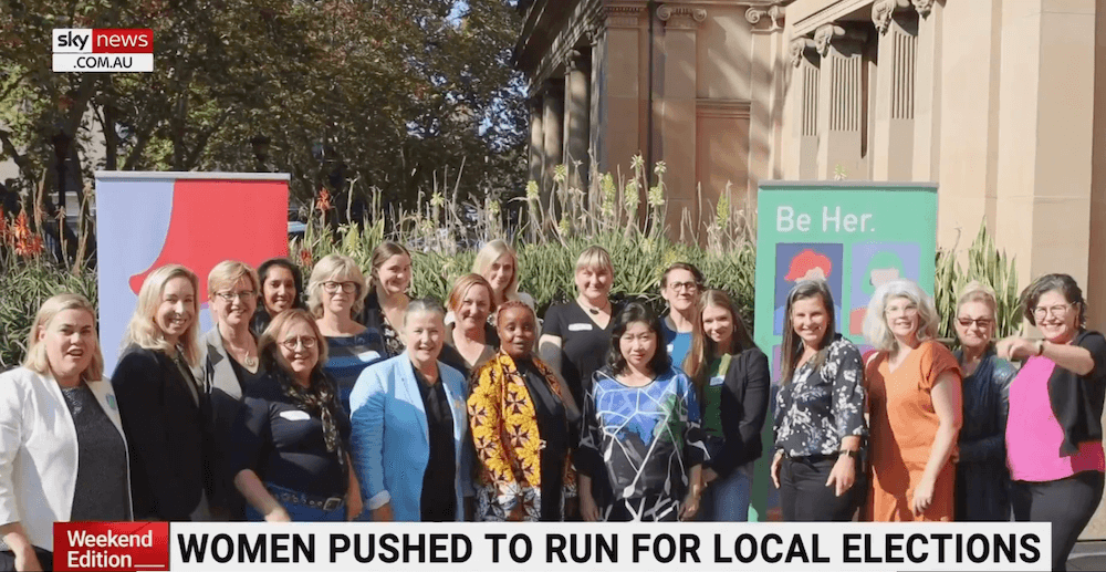 SkyNews: Women pushed to run in local elections